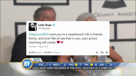Entertainment City: Lady Gaga's love advice to Taylor Swift