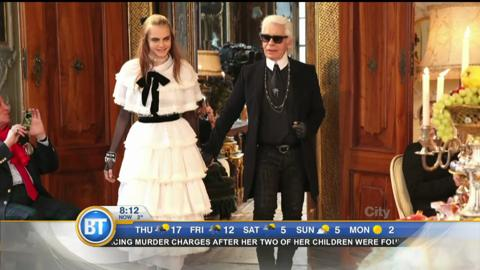 Entertainment City: Karl Lagerfeld visits Toronto