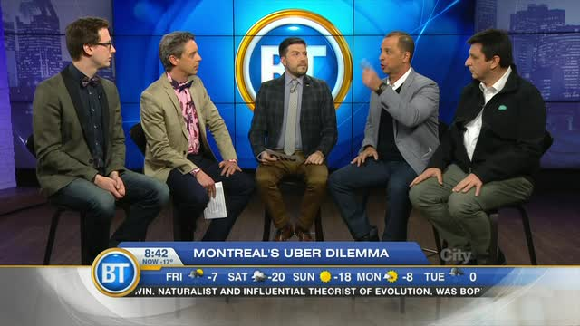 Taxi vs. Uber: Montreal debates the issue