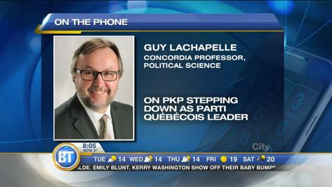 Political insider Guy Lachapelle reacts to Pierre Karl Péladeau's sudden resignation