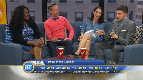 Breakfast Television joins the Table of Hope