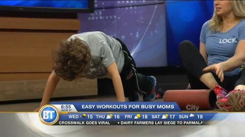 Easy workouts for busy moms
