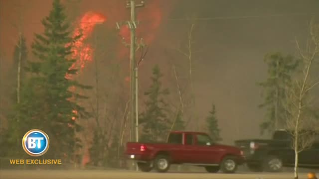 Quebec family living the Fort McMurray nightmare