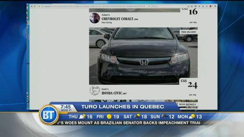Would you rent your car to a stranger? Turo launches in Montreal