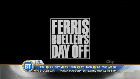 Celebrating thirty years of Ferris Bueller's Day Off