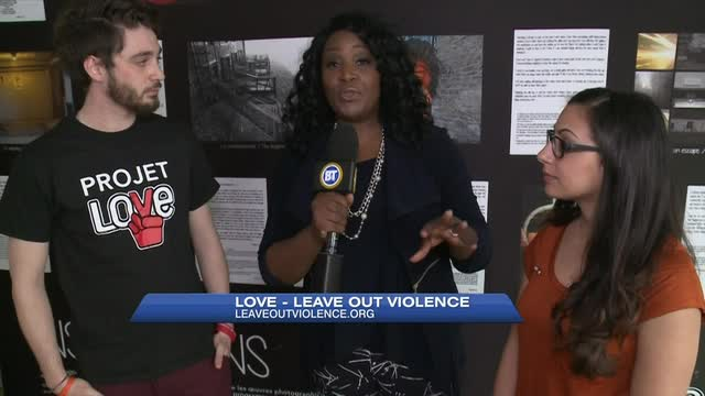 LOVE: Leave Out Violence uses art to solve problems