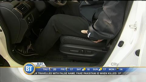 Adjusting your car's seat properly