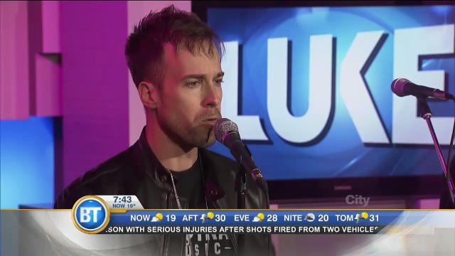 LUKE performs 'Mouth 2 Mouth'