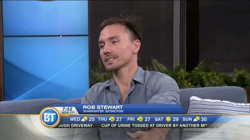 Filmmaker Rob Stewart talks 'Sharkwater: Extinction'