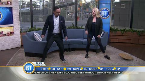 Neuromuscular warm-ups with chiropractor Stacy Irvine