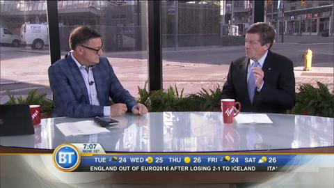 Mayor John Tory defends Scarborough subway extension
