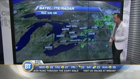 Morning Weather Webcast: June 29, 2016