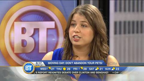 Moving Day: Don't abandon your pets