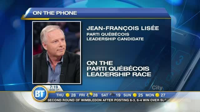 PQ leadership hopeful Jean-Francois Lisée