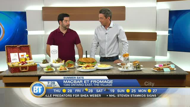 Summer eats with Food Guy Montreal's Dustin Gilman