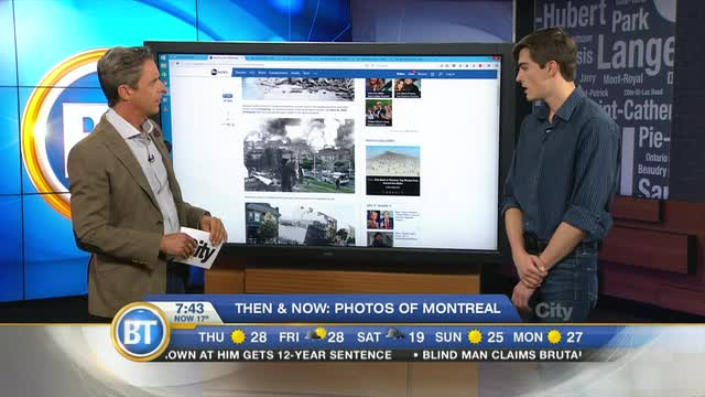 Then & Now: Photos of Montreal