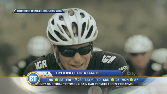 Charles-Bruneau Cycling fundraiser