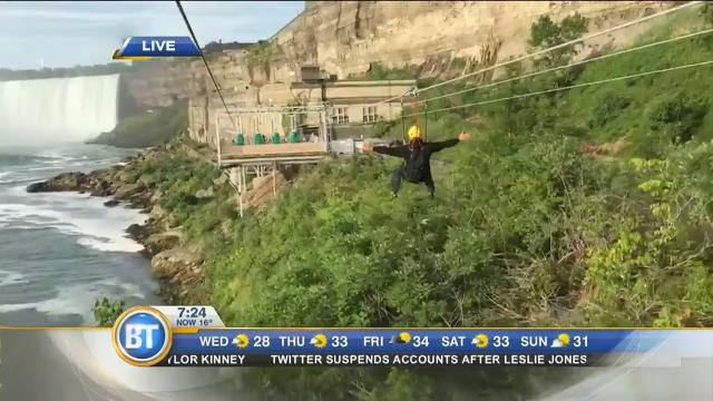Winston live at Wildplay Niagara Falls Mistrider Zipline (2 of 2)