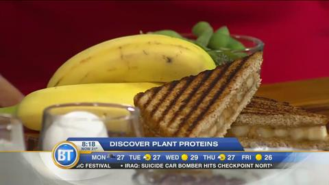 Adding plant proteins to your diet