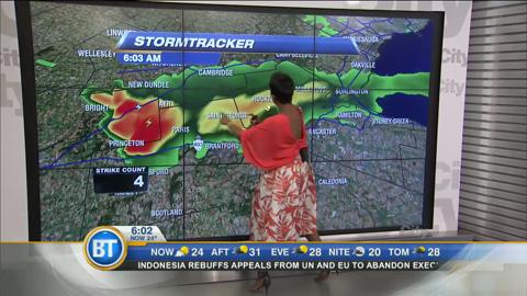 Morning Weather Webcast: July 28, 2016