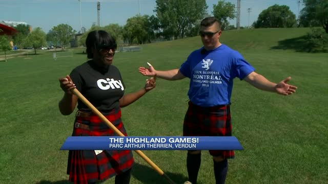 Highland games return to Verdun this Sunday