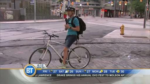 #BTBikes: Winston cycles through Toronto (1 of 4)
