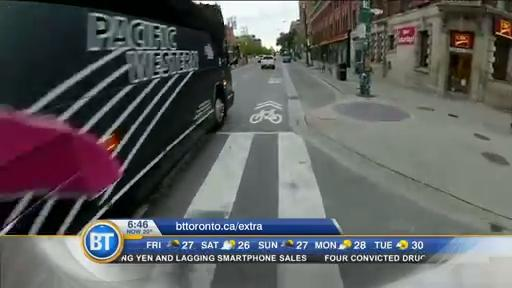 #BTBikes: Winston cycles through Toronto (2 of 3)