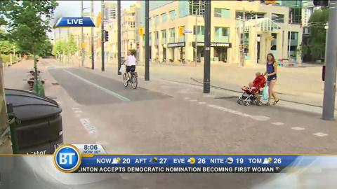 #BTBikes: Winston cycles through Toronto (4 of 4)