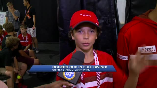 From ball kids to TV production: Behind the scenes at the Rogers Cup