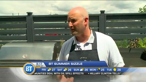 Summer Sizzle: BBQing with charcoal