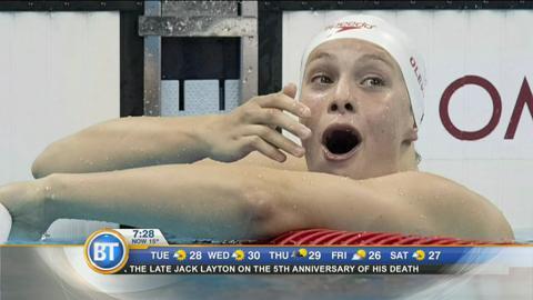 Olympic gold medalist Penny Olesiak