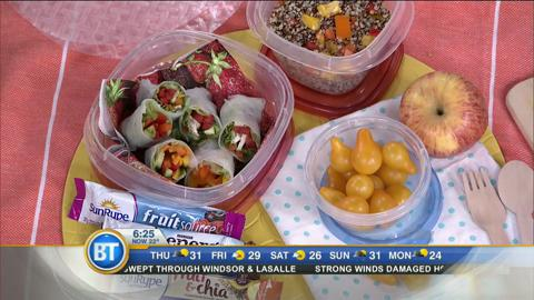 Nut free school lunches and snack ideas