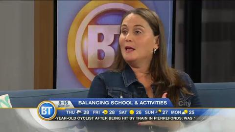 Mom Talk: Balancing school and extra-curricular activities