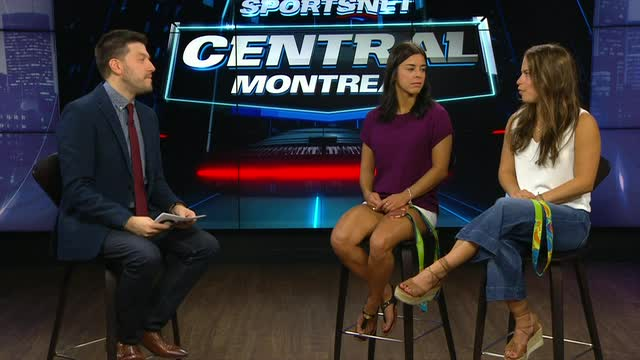 Sportsnet Central Montreal: Meaghan Benfeito and Roseline Filion