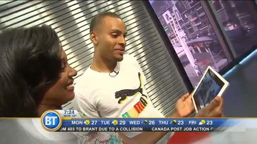 Chatting with Team Canada's Andre DeGrasse