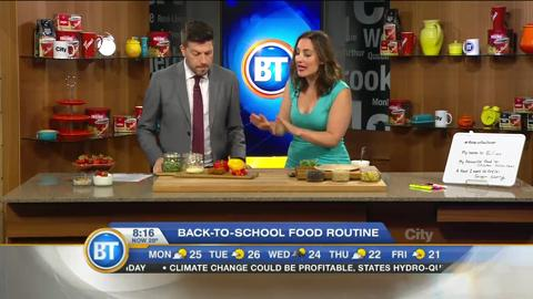 Changing your back-to-school food routine
