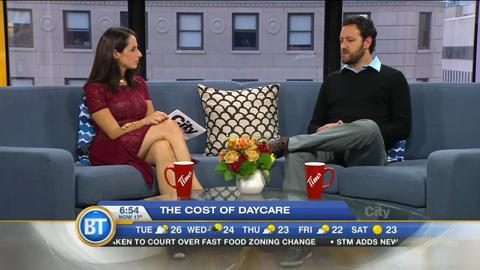 The cost of daycare