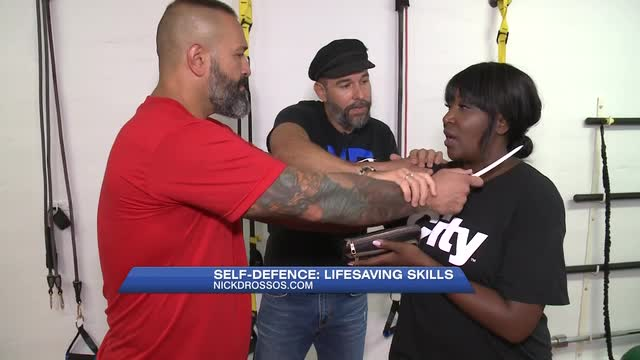 Self Defence tips with Nick Drossos