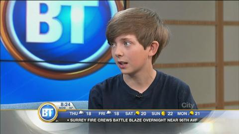 What Were You Doing At 12? This Local Actor Is Making Movies!