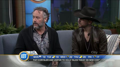 Brett Kissel and Brett Wilson are teaming up to battle cancer