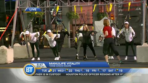 Pay Chen live at Manulife's Vitality program (1 of 3)