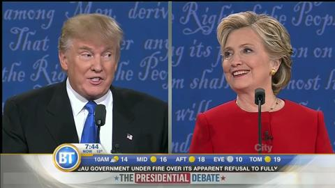 Why Trump Started Off Reasonable And Why He Slowly Unraveled During The Presidential Debate