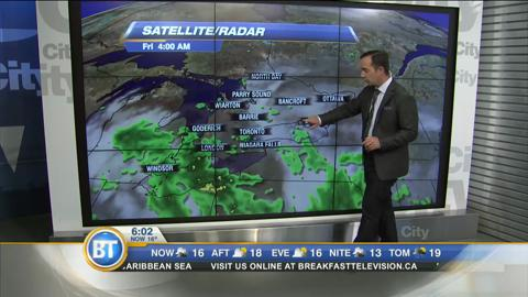 Morning Weather Webcast: Sep. 30, 2016