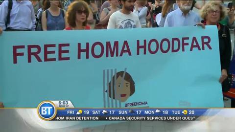 Homa Hoodfar Returns Home