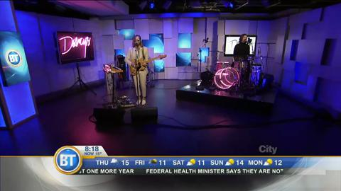 The Darcys perform single 'Miracle' live