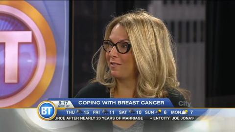 Mom Talk: Coping with breast cancer