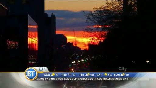 Sharing the beauty of yesterday's Toronto Henge