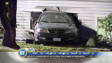 Car into Home in Burnaby