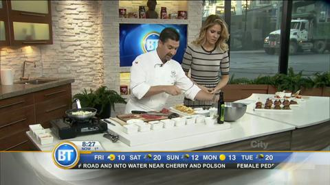 Chef Paboudjian recipes from Sheraton's paired menu